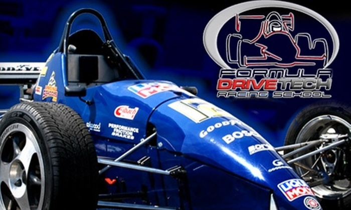 Formula Drivetech - Millville: $49 for a Ride-Along ($99 Value) or $249 for an Intro Class ($499 Value) from Formula Drivetech
