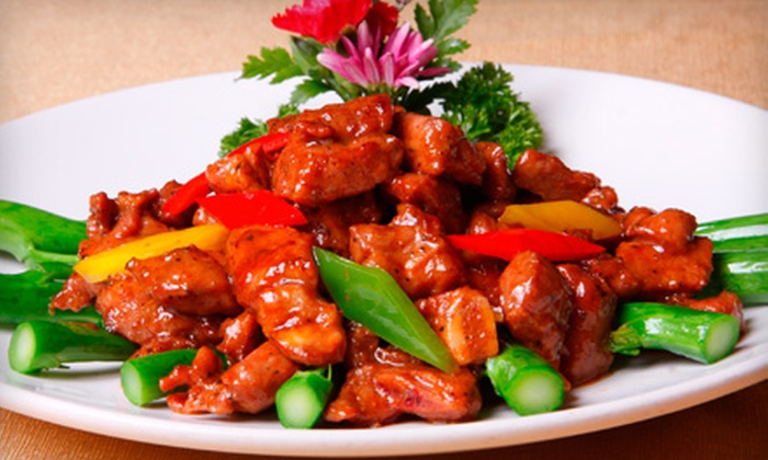 China Inn Restaurant - Shreveport / Bossier: $25 for a Four-Course Chinese Dining Feast and Wine for Two at China Inn Restaurant in Bossier City (Up to a $67.55 Value).