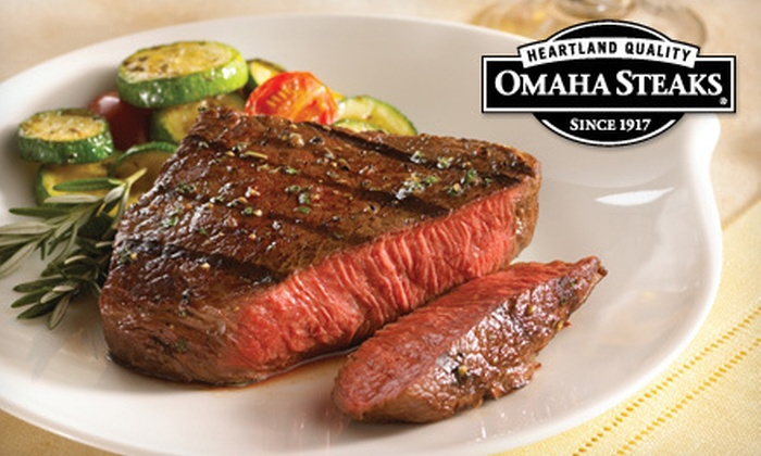 Omaha Steaks Inc. **NAT**: Gourmet Meat Package with Shipping from Omaha Steaks (Up to 66% Off). Three Options Available.