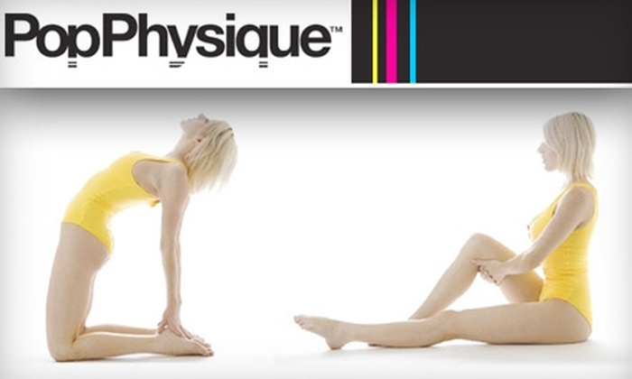 Pop Physique - Multiple Locations: $20 for Three Fitness Classes at Pop Physique