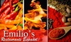 Emilio's Restaurante Español - The Fan: $15 for $30 Worth of Authentic Spanish Cuisine and Drinks at Emilio's Restaurante Español