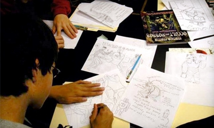 Cartoon Art Museum - South Beach: $100 for a Private-Group Cartooning Class at Cartoon Art Museum ($200 Value)