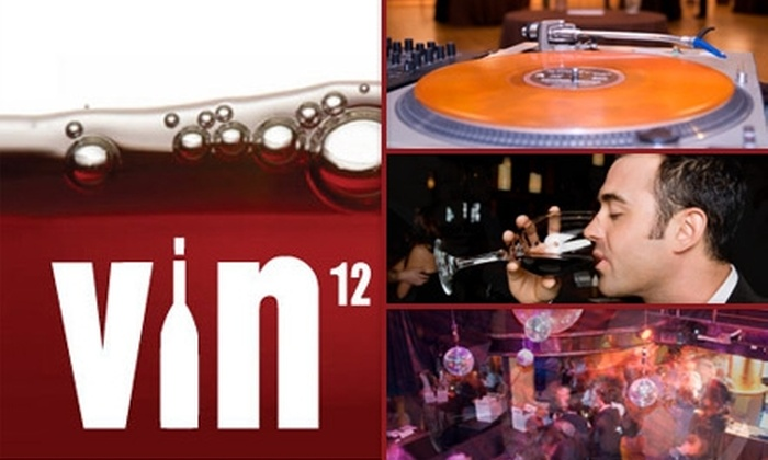 VIN12 - South Beach: $15 Ticket to the Thursday, June 17 VIN12 Unlimited Wine-Tasting Event on ($25 Value)