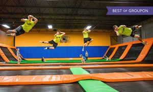 AirMaxx - St. Cloud: Trampoline Jump Sessions for Two, Four, or Six at AirMaxx - St. Cloud (Up to 52% Off). Seven Options Available.