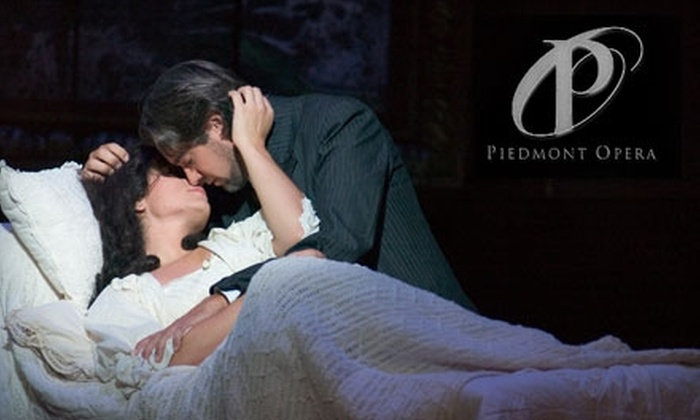 """Piedmont Opera's <i>Il Trovatore</i> - Multiple Locations: Ticket to the Piedmont Opera's Performance of Verdi's """"Il Trovatore"""" on Oct. 5. Three Seating Options Available."""