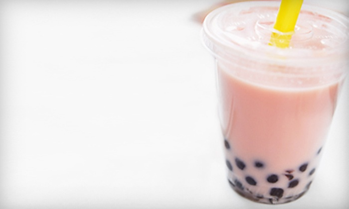 Tapioca Express - South Berkeley: $12 for Five Bubble Teas, Smoothies, and Snacks at Tapioca Express in Berkeley (Up to $25 Value)