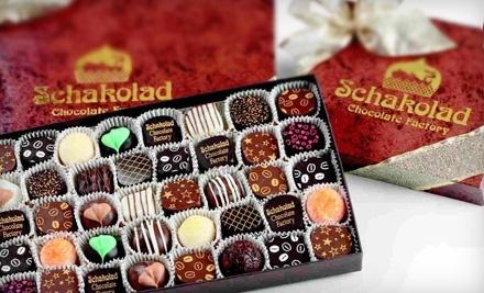 $20 Groupon to Schakolad Chocolate Factory - Schakolad Chocolate Factory in Fort Worth