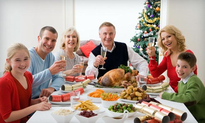 Marvin's Garden of Gourmet Foods: Ham or Turkey Holiday Meal for 16–20 from Marvin's Garden of Gourmet Foods (Up to 65% Off)