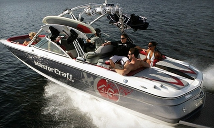Invert Sports - Lehi: Luxury Boat Ride on Utah Lake from Invert Sports in American Fork on a Friday or Saturday. Two Options Available.