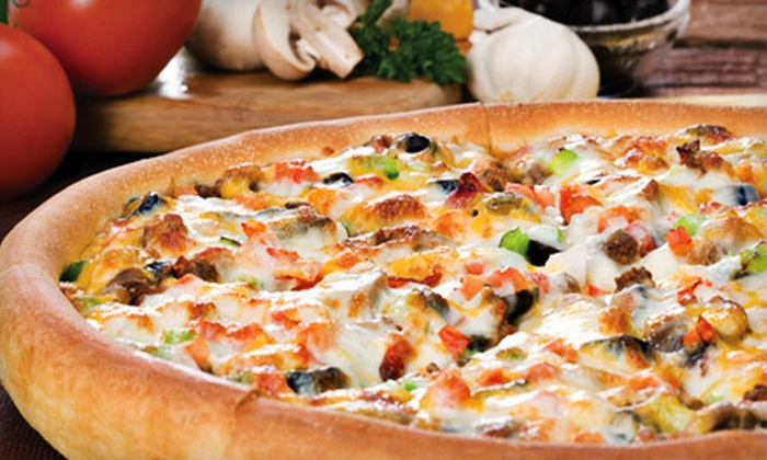 Godfather's Pizza - Multiple Locations: $15 for $30 Worth of Pizza and Drinks at Godfather's Pizza