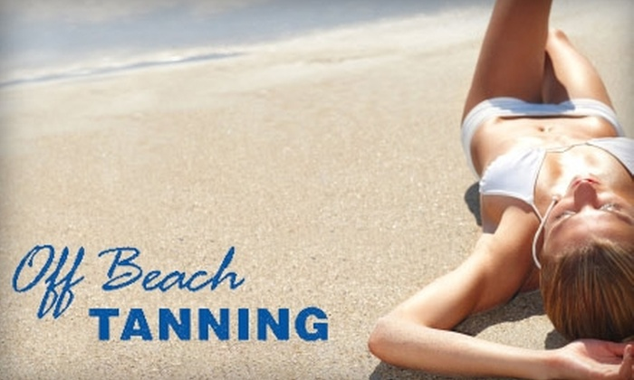 Off Beach Tanning - Arcadia: $35 for Two MagicTan Sessions at Off Beach Tanning ($70 Value)