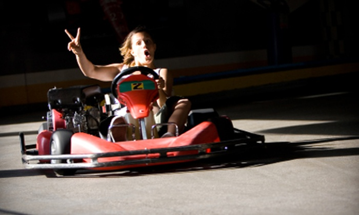 Grand Prix Raceway - Lakewood: $20 for Two 20-Lap Kart Races at Grand Prix Raceway in Lakewood ($40 Value)