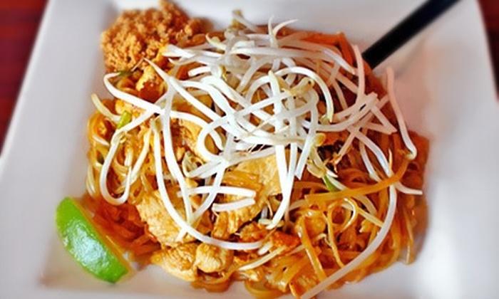 SaWaDiKa Thai Zone - Richardson: $7.50 for $15 Worth of Thai Cuisine at Lunch or Dinner at Sawadika Thai Zone