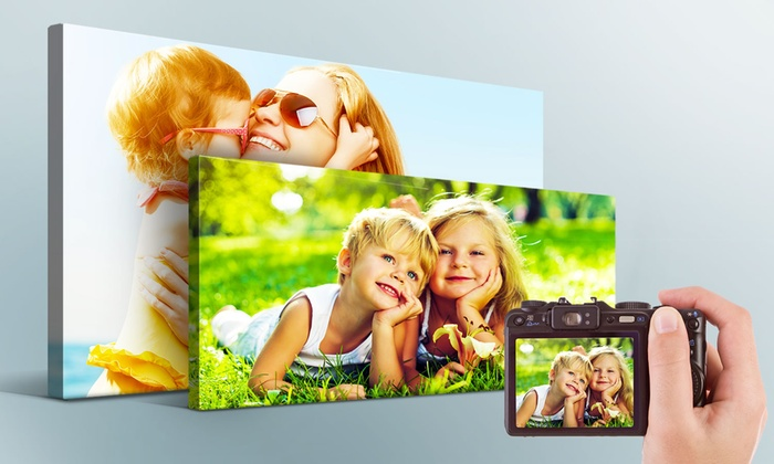 Printerpix: Custom Photo Canvases from Printerpix (Up to 88% Off). Five Options Available.
