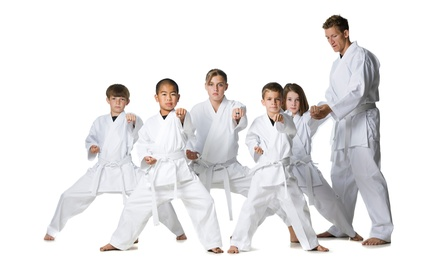 Five or 10 Class Pack Kids Martial Arts Class at San Juan Karate (Up to 90% Off)
