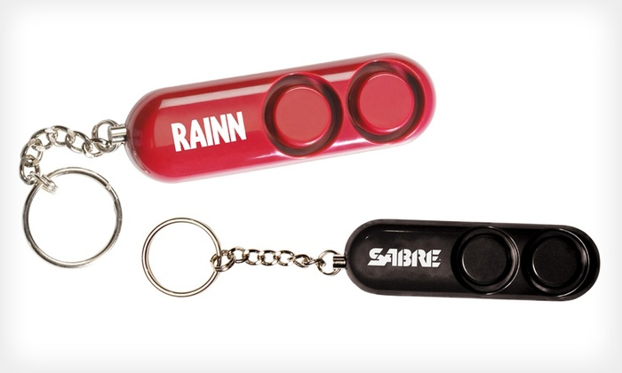 Set of 2 Sabre Red Key Chain Alarms: Set of 2 Sabre Red Personal Safety Alarms. Free Returns.
