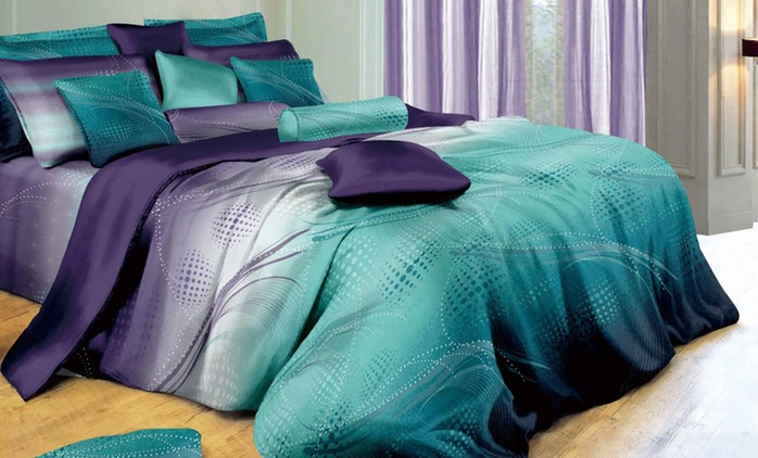 Artistic Quilt Cover Set - Single ($39), Double ($45), Queen ($49), King ($59) or Super King ($79)