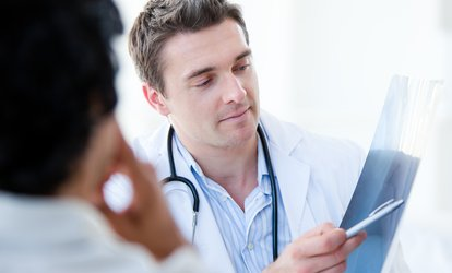image for Health Assessment Package with Optional Prostate Cancer or Ovarian Cancer Test, Choice of 20 Locations (Up to 72% Off)