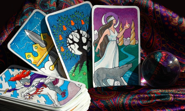 Psychics of Chicago - Multiple Locations: Tarot-Card Reading with Optional Palm Reading or a Full Psychic Reading at Psychics of Chicago (Up to 55% Off)
