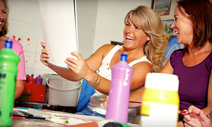 The-Painting-Party - Gloucester: BYOB Painting Party for One or Two at The-Painting-Party (Up to 56% Off)