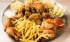 Chicken-Halal-Menü nach Wahl