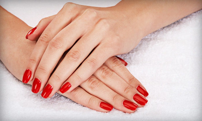 Tiffany's International Salon - Tiffany's International Salon: Basic Mani-Pedi, or Gel Manicure and Spa Pedicure at Tiffany's International Salon (Up to 54% Off)