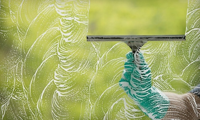 Looking Glass Window Cleaning - Las Vegas: $44 for Exterior Cleaning for 10 Windows from Looking Glass Window Cleaning ($100 Value)