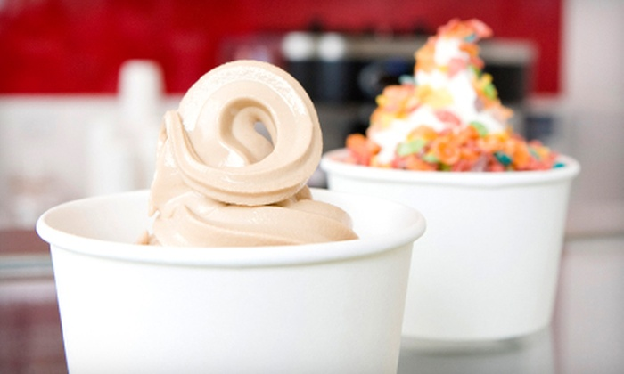 Euro Yogurt - South Bethlehem Downtown Historic District: Five Medium Frozen Yogurts or $5 for $10 Worth of Frozen Treats at Euro Yogurt in Bethlehem