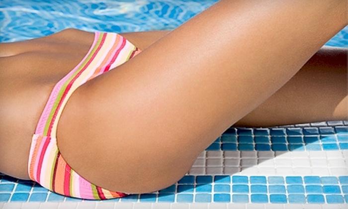Elan Designs - Cranston: Full Brazilian and Leg Wax or Full Foil and Haircut at Elan Designs in Cranston