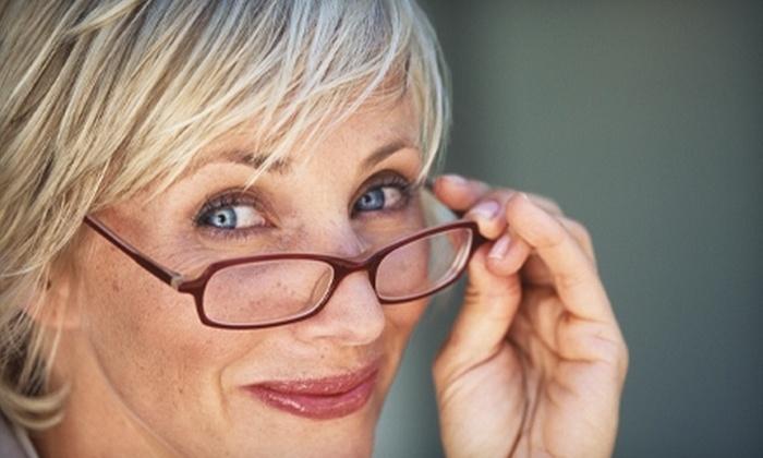 Elite Optical - Mesa: Eye Exam or Glasses at Elite Optical in Mesa. Choose Between Two Options.