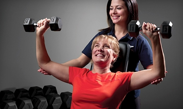 Fitness Together - Multiple Locations: $70 for Three Personal-Training Sessions from Fitness Together (Up to $255 Value). Four Locations Available.