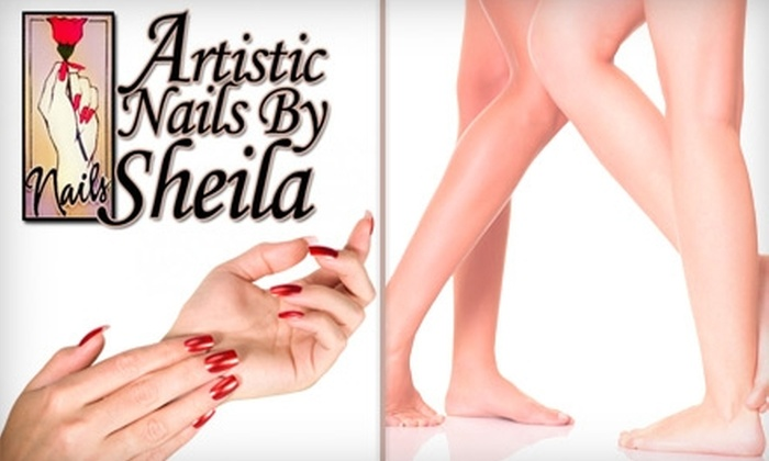 Artistic Nails by Sheila - Augustana: Half Off Your Choice of Manicure ($20 for $40), Pedicure ($37 for $75), or Gel Nail Enhancements ($50 for $100) or $25 for a Brazilian Waxing ($55 Value) at Artistic Nails by Sheila