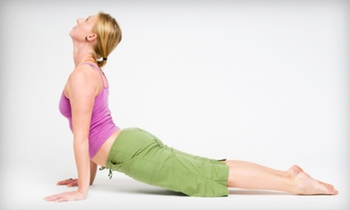 Barefoot Yoga Studio - O'Fallon: $25 for a Five-Class Pass to Barefoot Yoga Studio in St. Peters ($53.78 Value)