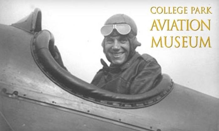 College Park Aviation Museum - College Park: $4 for Two Tickets to College Park Aviation Museum (Up to $8 Value)