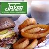 Half Off Burgers at Jake's