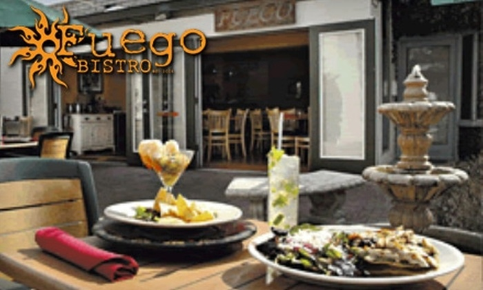 Fuego Bistro - Camelback East: $10 for $30 Worth of Latin Fusion Cuisine and Drinks at Fuego Bistro
