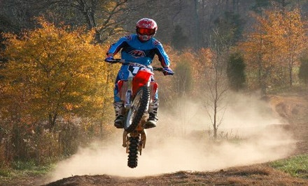 Lesson Package, Including Lesson, Dirt-Bike & Equipment Rental, and Track Fee - MidsouthmotoX in Mebane