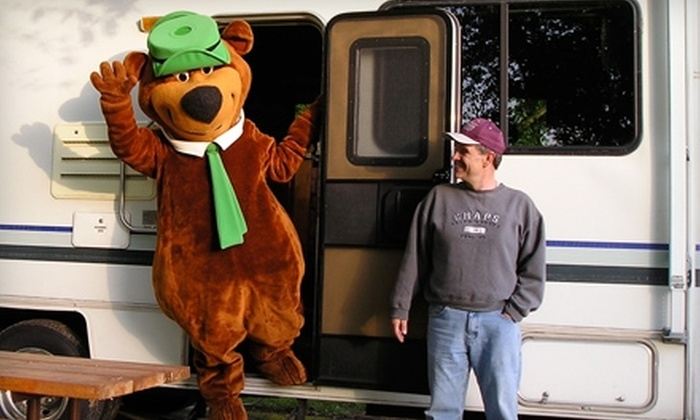 Yogi Bear's Jellystone Park Camp-Resort - Van Buren: $35 for Two Nights of Camping at Yogi Bear's Jellystone Park Camp-Resort in Van Buren (Up to $78 Value)