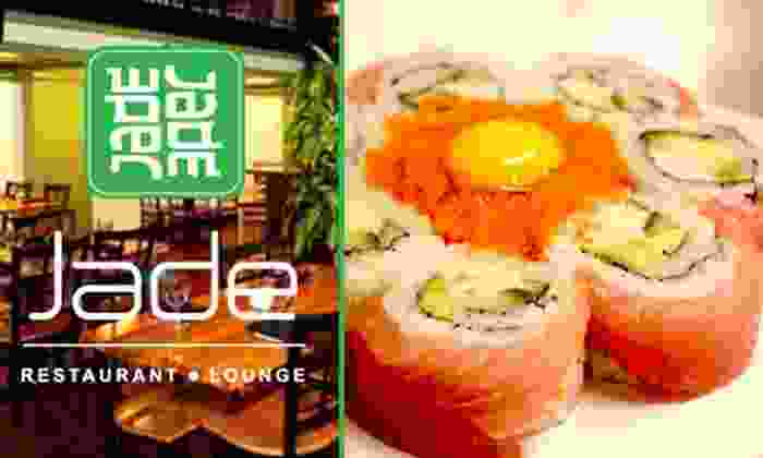 Jade Restaurant & Lounge - Downtown St. Louis: $10 for $25 Worth of Sushi and Stir-Fry at Jade Restaurant & Lounge