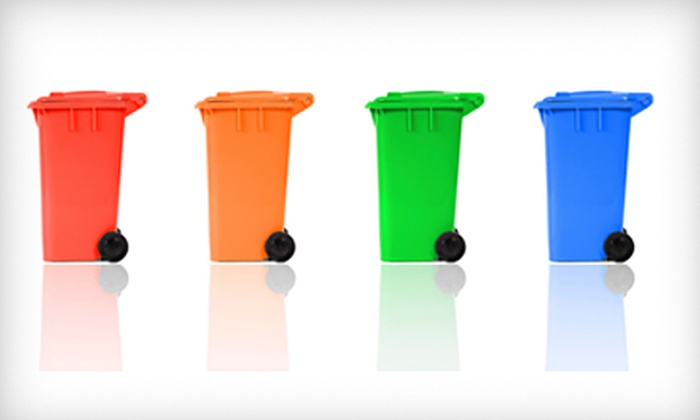 Scrubbish - Core-Columbia: $10 for Trash-Can Cleaning for Two Bins from Scrubbish ($26.95 value)