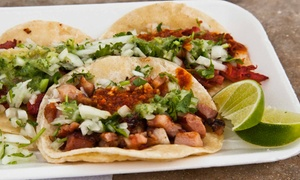 Pepper's Mexican Grill: Mexican Food at Pepper's Mexican Grill (Up to 35% Off). Two Options Available.