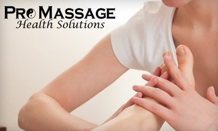 ProMassage Health Solutions - Echo Meadows: $35 for One-Hour In-Studio Massage at ProMassage Health Solutions ($75 Value)