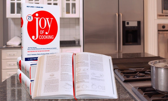 """""""Joy of Cooking"""" 75th Anniversary Cook Book: $12 for the 75th Anniversary Edition of """"Joy of Cooking"""" from BookPal ($35 Value)"""