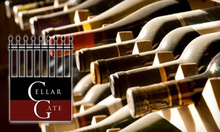 Cellar Gate Wine Market - Chicago: $10 for $20 Worth of Hors D'oeuvres and Fine Wine at Cellar Gate Wine Market in Highwood
