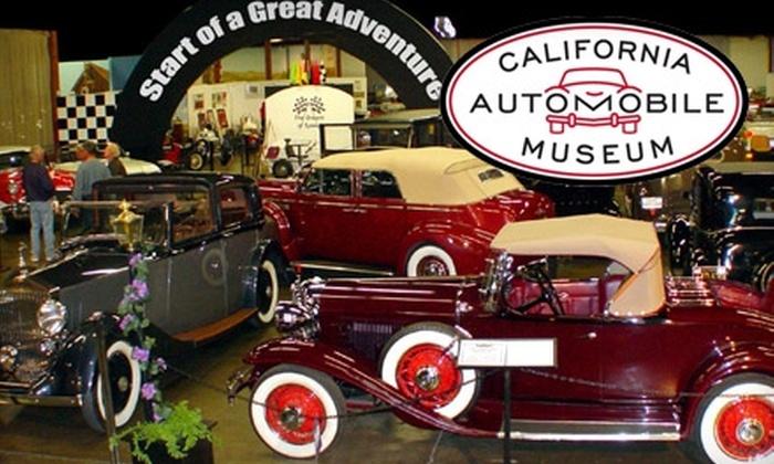 California Automobile Museum - Central Sacramento: $4 for an Adult Admission to California Automobile Museum