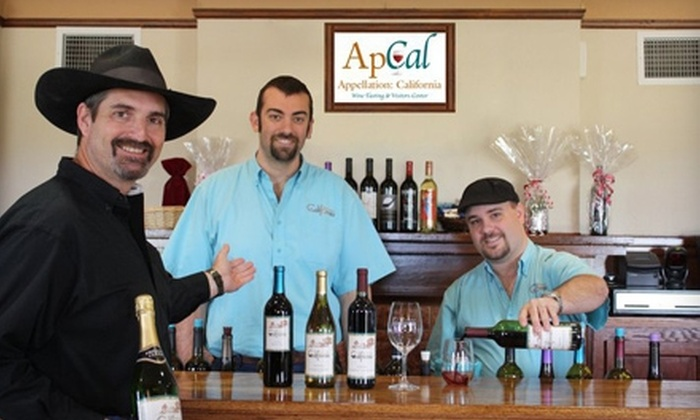 Appellation: California - Madera Southeast: $20 for a Wine Tasting for Eight Guests at Appellation: California ($40 Value)