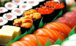 SushiBar: Desde $309 por cena para dos o cuatro en Sushi Bar