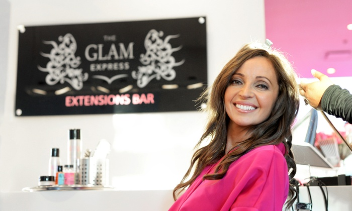 The Glam Express - The Glam Express: $29 for a Blowout and Style Package with Mimosa at The Glam Express ($65 Value)