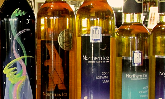 The Ice House Winery - Niagara on the Lake/Queenston: Ice Wine Taste & Learn Experience for Two or Four at The Ice House Winery (Up to 53% Off)