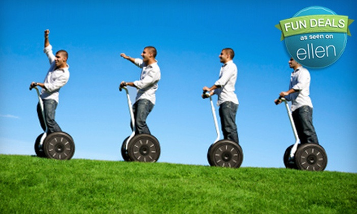 Segway Nation - Downtown: $32 for an Executive Segway Tour from Segway Nation ($65 Value)